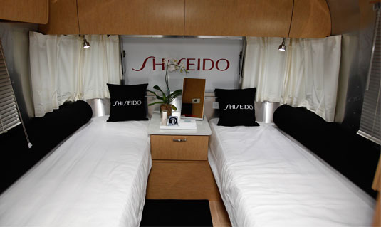 Shiseido Airstream Mobile Tour Popsugar Beauty