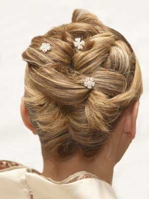 Wedding Updo Hairstyle Picture