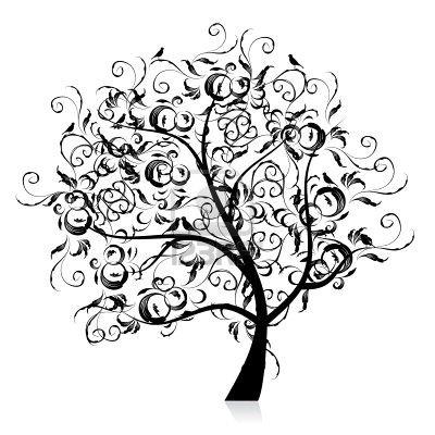 tree silhouette clip art. pine tree silhouette clip art.