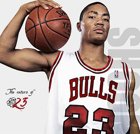 derrick rose dunk bulls. derrick rose wallpaper dunk.