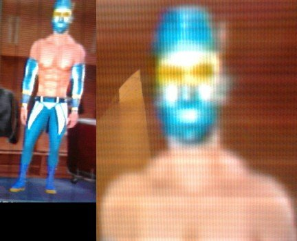 pics of sin cara without mask. wwe superstar sin cara without