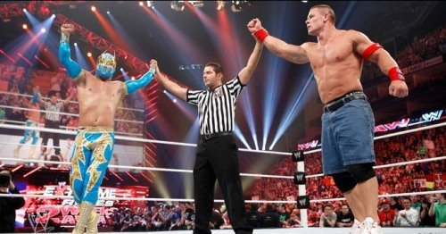 pics of sin cara without mask. John Cena and Sin Cara Vs Alex