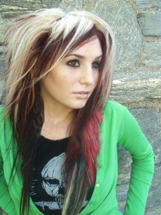 long punk hairstyles for girls. long haircuts for girls. punk