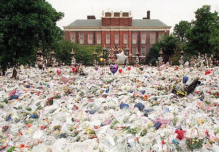 princess diana funeral pics. 2011 princess diana funeral dress. princess diana funeral procession.