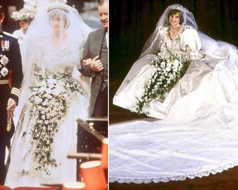 princess diana wedding dress designer. princess diana wedding dress
