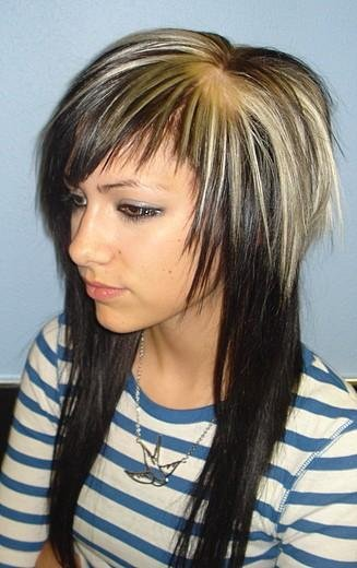 scene hairstyles for girls with thick. Cool Scene Hairstyles » cool