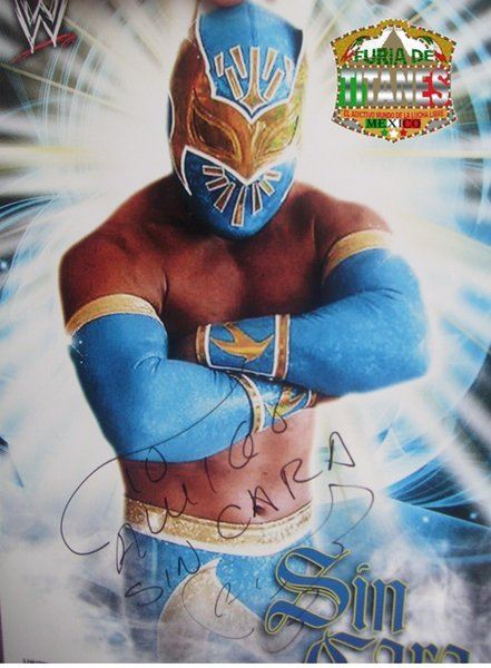 sin cara wwe without mask. sin cara without mask wwe.