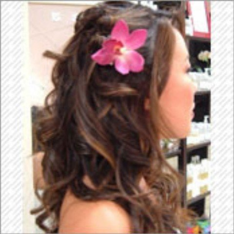 prom hair 2011 half up half down. prom hairstyles for medium