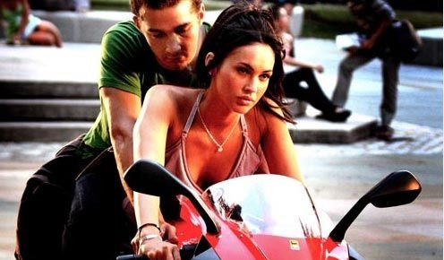 megan fox transformers motorcycle. hair megan fox transformers 2