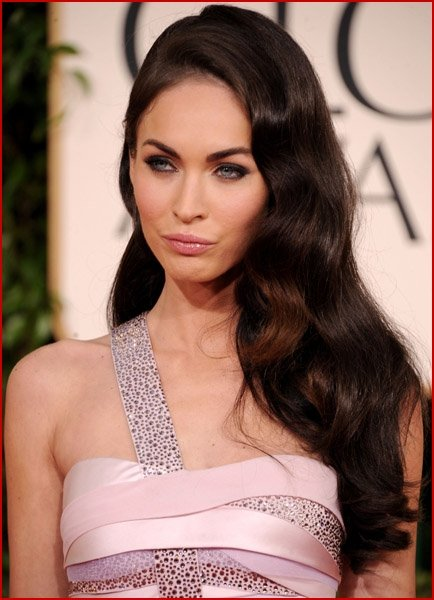 Megan Fox Golden Globes 2011 Makeup. Megan Fox And Brian Austin